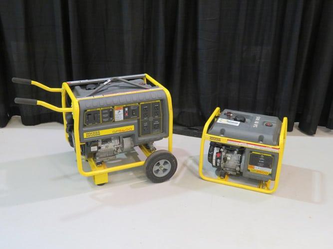 1900Watt To 9700 Watt Gas Generators Image