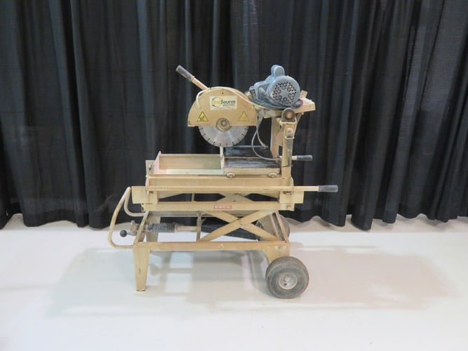 14in Brick Saw Electric Image